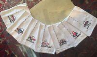 Days of the Week Spanish Kitchen Towels Cloths Tea Handmade Cross Stitch Baskets