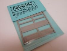 """Grandt Line #3958 Paneled Shutters 2 Pair Fit #3930/33 Window 1/2"""" 1:24 G Scale"""