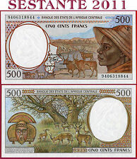 (com) Central African States E = CAMEROUN 500 Francs 1994 - P 201Eb - UNC