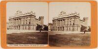 Italia Torino Palais Madama c1880 Foto Stereo Brogi Vintage Albumina