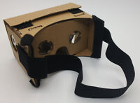 Google Cardboard 25mm lens with NFC Tag and Head Strap.