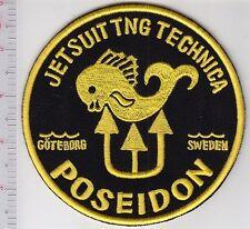 SCUBA Diving Sweden Poseidon Jetsuit TNG Technica Sverige Dykning Goteborg Swede
