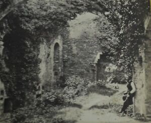 1860s Stereoview Photo Conway Castle Banqueting Hall Francis Bedford N Wales