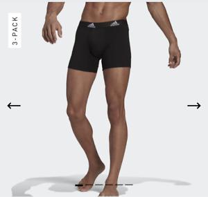 New Adidas boxer shorts 3 pack