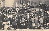 CPA 12 CONGRES EUCHARISTIQUE DE RODEZ 1913 BENEDICTION DE LA FOULE DEVANT LA