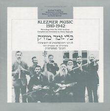 Various Artists - Klezmer Music 1910-1942 / Various [New CD]