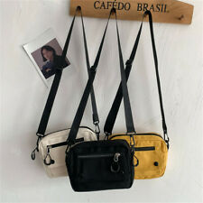 Women Fashion Casual Tote Outdoor Mini Bags Canvas Handbag Zipper Shoulder Bag
