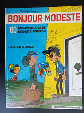 Bonjour Modeste et Pompon Lombard Franquin Réed 1973