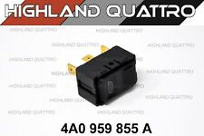Audi ur quattro coupe power window control switch 4A0959855A