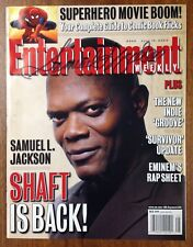 SAMUEL L. JACKSON Signed Entertainment Weekly Magazine 2000 Star Wars PSA it