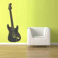 Wall Decal Vinyl Sticker Decals Guitar Music (Z1524)