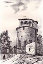 Eglise de Saint Gervais Saint Protais Guyenne Aquitaine Gironde