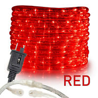"""Assorted Sizes 1//2/"""" Multi-RGB LED Rope Lighting Thick Indoor Outdoor Christmas"""