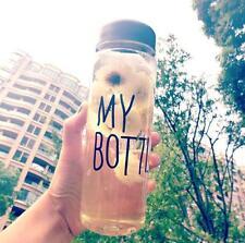 Hot Clear My Bottle Sport Fruit Juice Water Cup 500ML Portable Travel Bottle