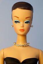 Barbie Repro Vintage FR Handmade Necklace Earrings Rhinestone Jewelry NE1445