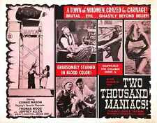 Two Thousand Maniacs Poster 02 A2 Box Canvas Print