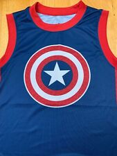 Marvel Tank Tops Men's XL Captain America Spider-Man Punisher