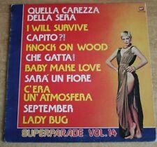 VARIOUS - Superparade vol.14 - Vinile 33 giri