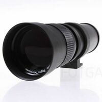 420-800Mm F/8.3-16 Telephoto Zoom Lens For Nikon Pentax Sony Dslr Cameras Q9R4