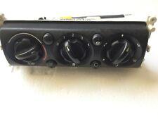 MINI BMW One Cooper / S R50 R52 R53 Heater Control Panel Air Con 6411 1502214