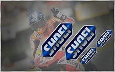 SHOEI X12 GT AIR RF QWEST X-FOURTEEN VFX-W NEOTEC J FORCE HELMET VISOR STICKERS