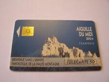 telecarte aiguille du midi 50u ref phonecote F157