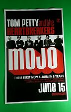 TOM PETTY AND THE HEARTBREAKERS MOJO B&W RED PHOTO BAND PROMO 11x17 MUSIC POSTER