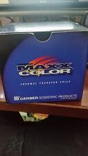 Gerber Color thermal transfer foil NEW  for Gerber maxx 500 Meters PRO