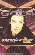 GALA - Freed From Desire (UK 3 Track Cassette Single)