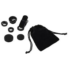3 in 1 Universal Mobile Phone Camera Lens Kit Fish Eye Wide Angle Macro iPhone