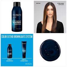 REDKEN Color Extend Brownlights Blue Toning Shampoo, 10.1 Fl Oz