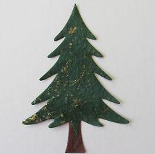 * Conf. da 5 Christmas Tree Die Cut abbellimenti per schede e Artigianato