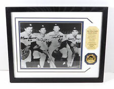 1961 Yankees Infield Signed Photo with Coin Highland Mint Framed DA025352