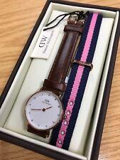 Daniel Wellington Classic St Andrews Ladies Leather Strap Watch 0900dw - 1006set