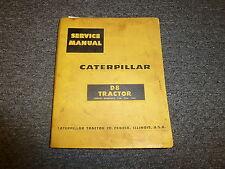Caterpillar CAT D8 Tractor Dozer Shop Service Repair Manual Guide 35A 36A 46A