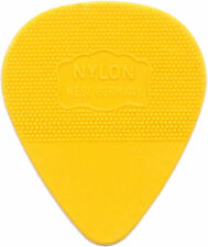 HERDIM YELLOW Nylon Pick, 10-pack Thin German-made plectrum As used by U2