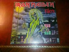 IRON MAIDEN KILLERS LP 33 RARA 1ma VERSIONE ITALIANA !!NO 2ndREPRINT OR USA UK!!