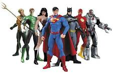DC COMICS NEW 52 JUSTICE LEAGUE ACTION FIGURE 7 PACK BOX SET