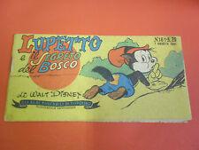 ALBI TASCABILI di TOPOLINO-STRISCIA N° 161- b-prima 1° SERIE originale del 1951