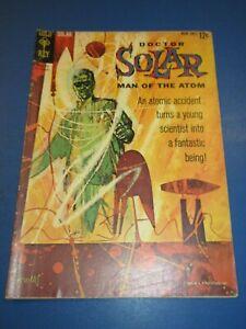 Doctor Solar #1 Silver age Gold Key Fair/Good JP