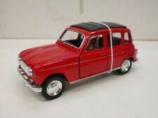 NEW RAY 1/32 - RENAULT 4 ROSSA - RETROCARICA