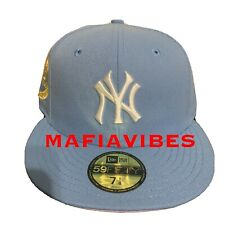 New Era 59Fifty New York Yankees Cotton Candy Hat Club 7 1/8 Fitted Hat Cap 1962