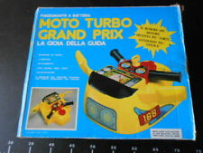Moto Turbo Grand Prix Table Top Game Electronic Battery Operated Vintage Toy