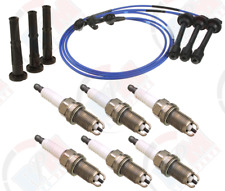 NGK Wire Set + DENSO Plugs + RPM Boots for Toyota 3.4L 4Runner Tacoma Tundra