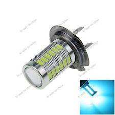 1X Ice Blue 33 5730 SMD LED H7 Fog Light Parking Lamp Foglight PX26d 12-24V H166