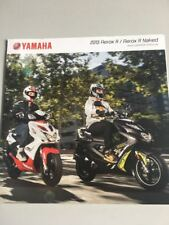 Yamaha Aerox R / Aerox R Naked - 2013 - Brochure Prospekt Prospect DE