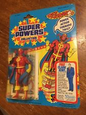 DC SUPER POWERS RED TORNADO 1985 KENNER NEW MOC CLARK KENT OFFER