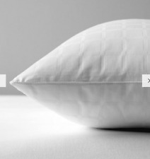 Specialist Synthetic Active Anti Allergy Square Pillow, Medium/Firm