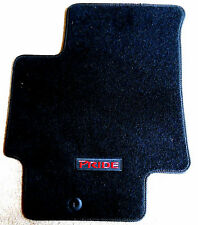 New Genuine OEM 2006-2011 Kia Rio5 Rio Pride Logo Black Carpet Floor Mats Set