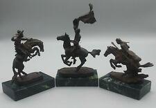 Vintage Remington Mini Statues